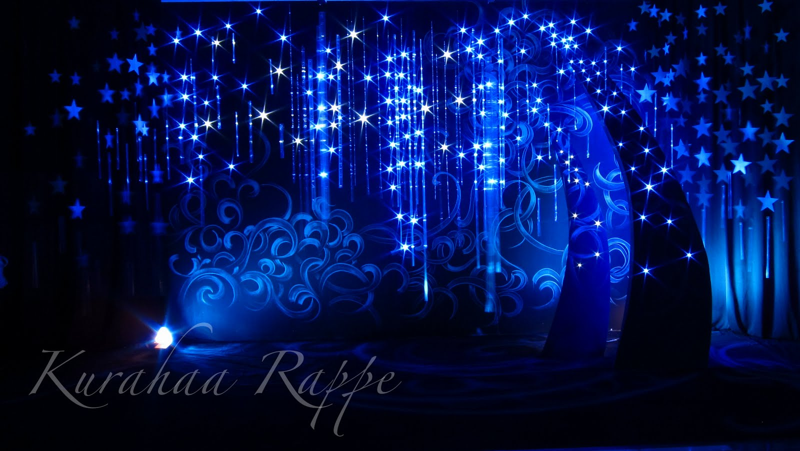 kurahaa rappe stars wedding set and decoration
