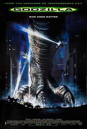 Godzilla 1998 Dual Audio Hindi ENG BluRay 720p