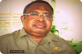 Ketua Masyarakat Pemantau Korupsi Kepala Daerah Minta KPU Waropen Tolak Yesaya Buinei