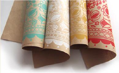 Laikonik wrapping paper range