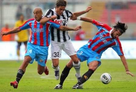 Catania vs Juventus