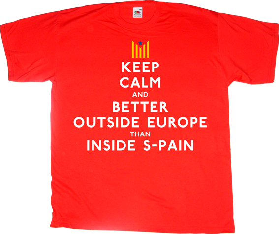 catalonia independence freedom referendum spain is different useless spanish politics t-shirt ephemeral-t-shirts
