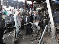 Zimbabwean Minister for SMEs Visits Kenya