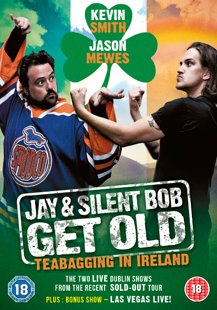 Jay & Silent Bob Get Old Teabagging In Ireland
