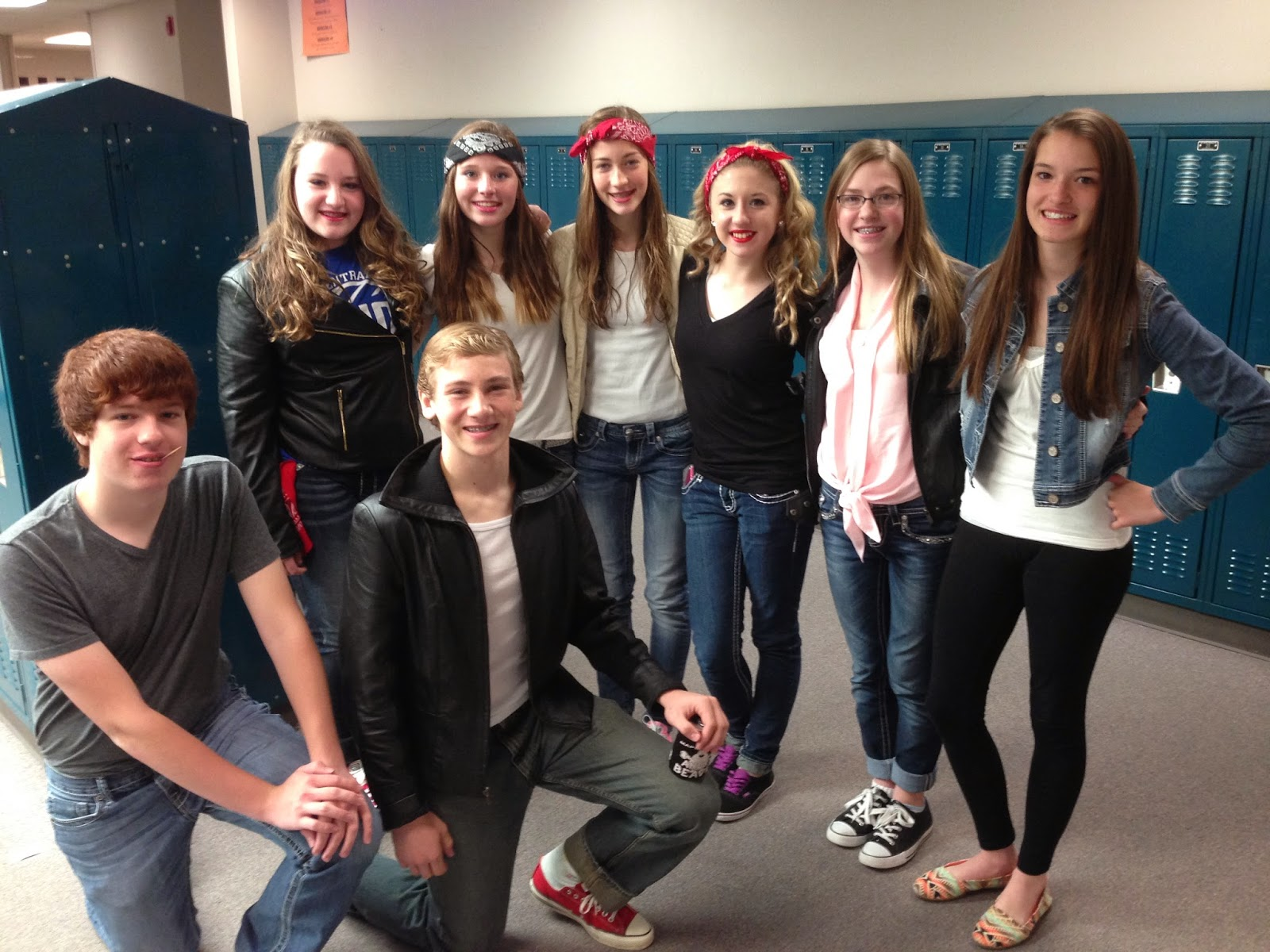 Miss Kluver's Blog: Greaser and Soc Day!