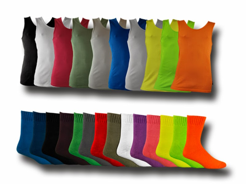 Bamboo creations high quality bamboo socks and bamboo singlets.