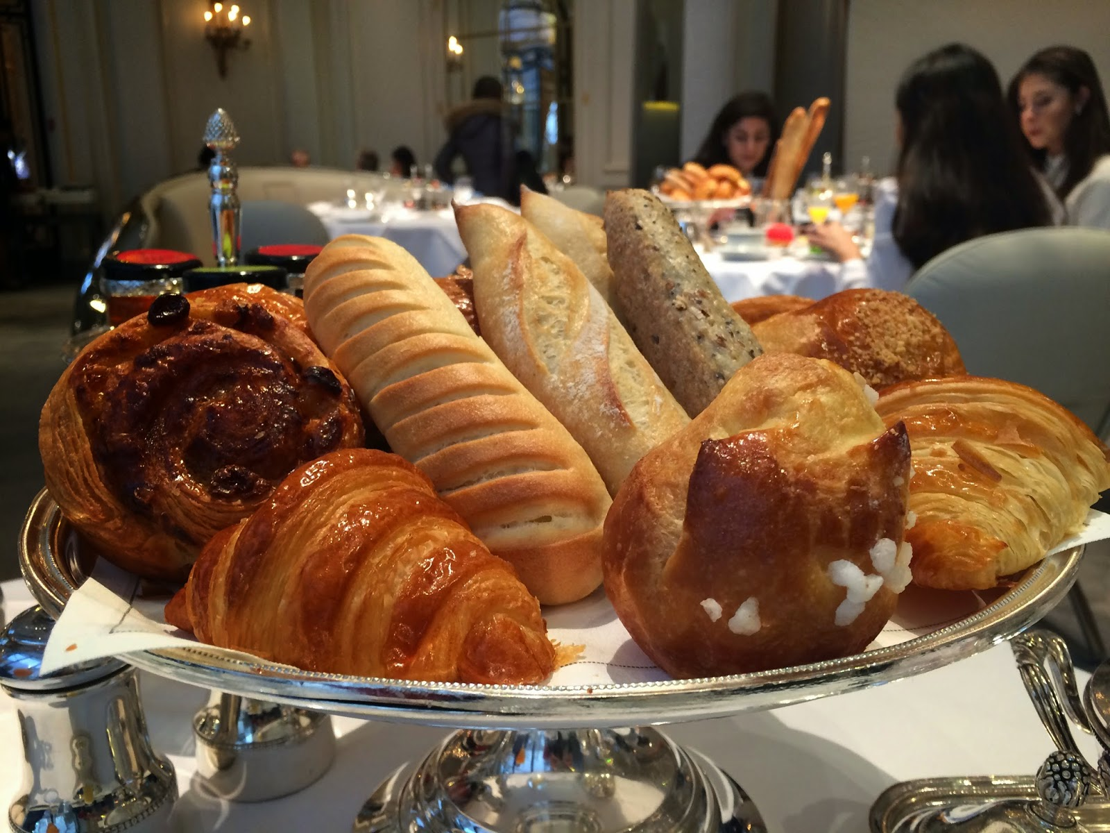 Pastries at the Haute Couture Brunch, Alain Ducasse au Plaza Athénée, Paris
