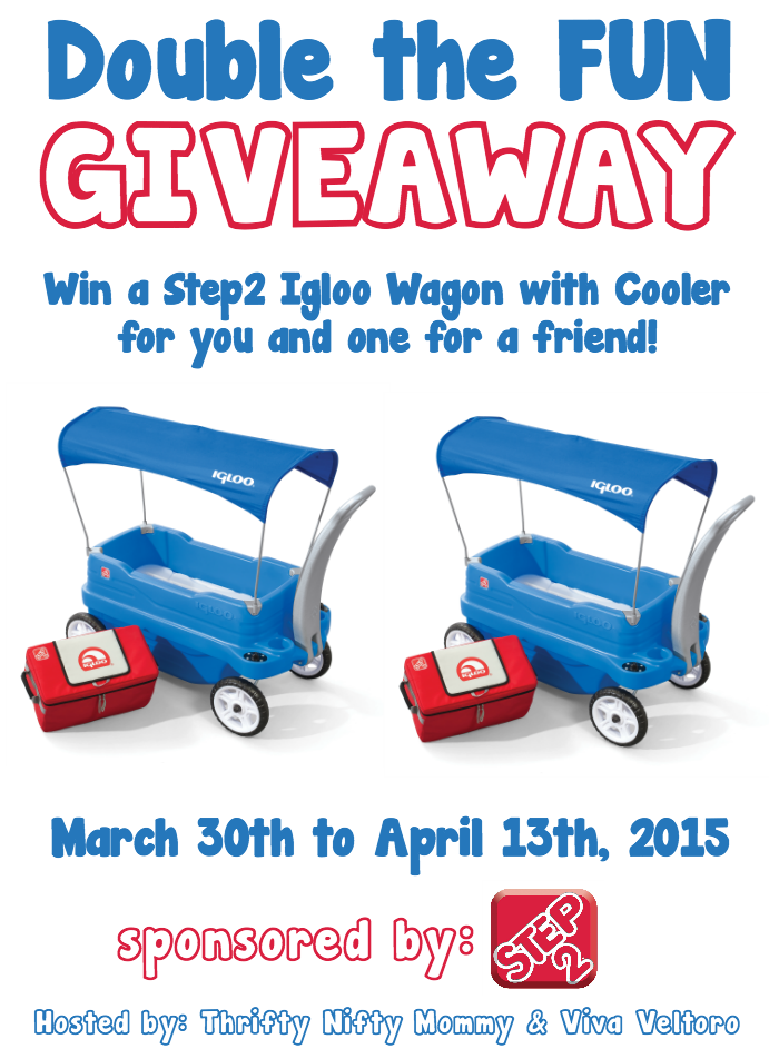 http://notquitecrunchymommy.blogspot.com/2015/03/step2-igloo-wagon-with-cooler-giveaway.html