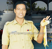 Police, Swimming, Competition, Winner, Gold coin, Kasaragod, Kumbala, Kerala News, International News