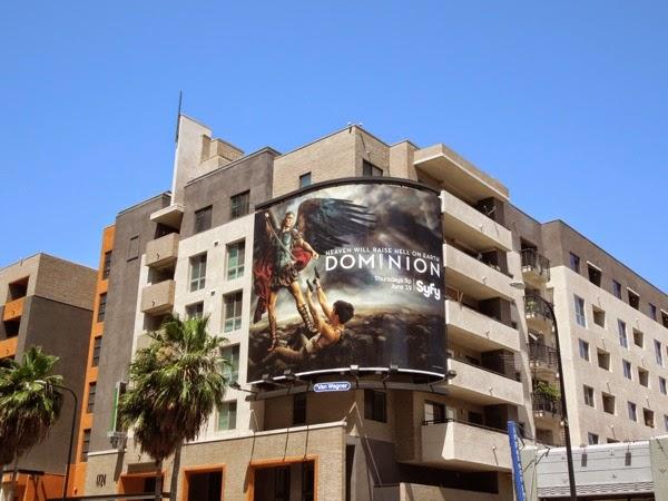 Dominion series launch billboard