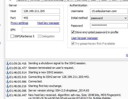 Free SSH Server Indonesia Support UDP 1 November 2014