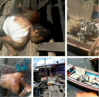 Ekslusif Dari Lahad Datu!! Kisah Ngeri Penduduk Kampung Kutip Mayat Pengganas Sulu.