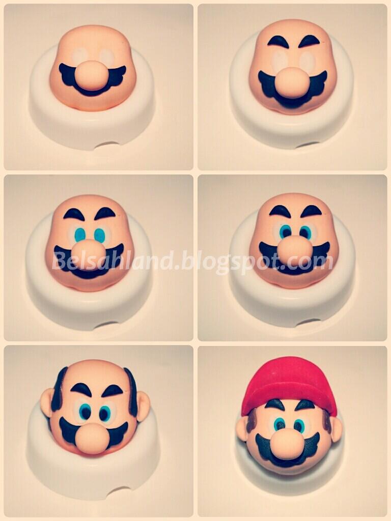 Mario Bros Cake Tutorial