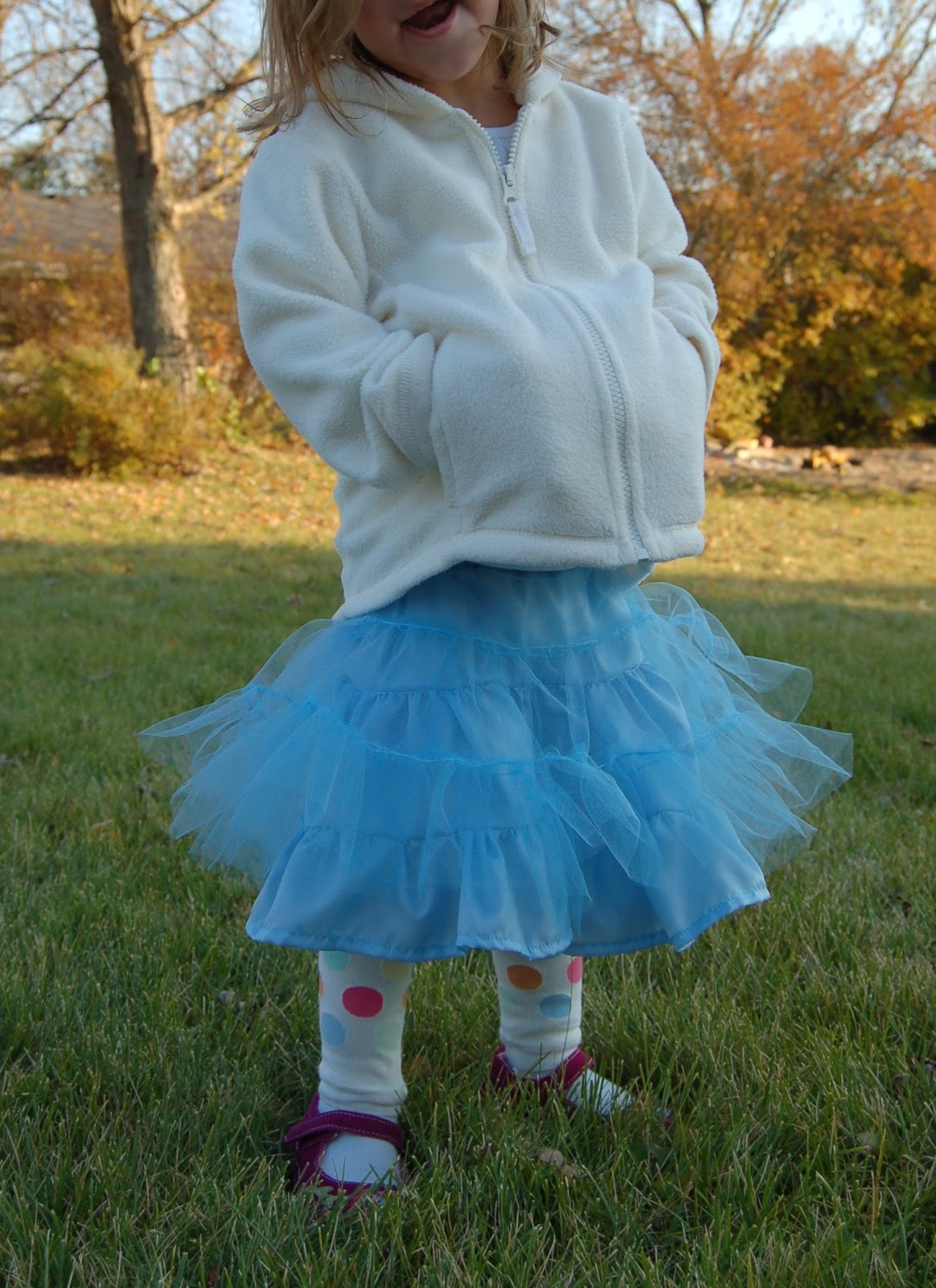 The Girls Absolutely Love It And While Its Quite A Bit Fuller Than Old Navy One I Still Like Lot Dont Know What Kind Of Tulle ON Used