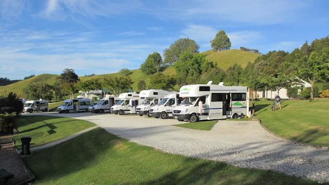 Waitomo Top 10 Holiday Park i New Zealand