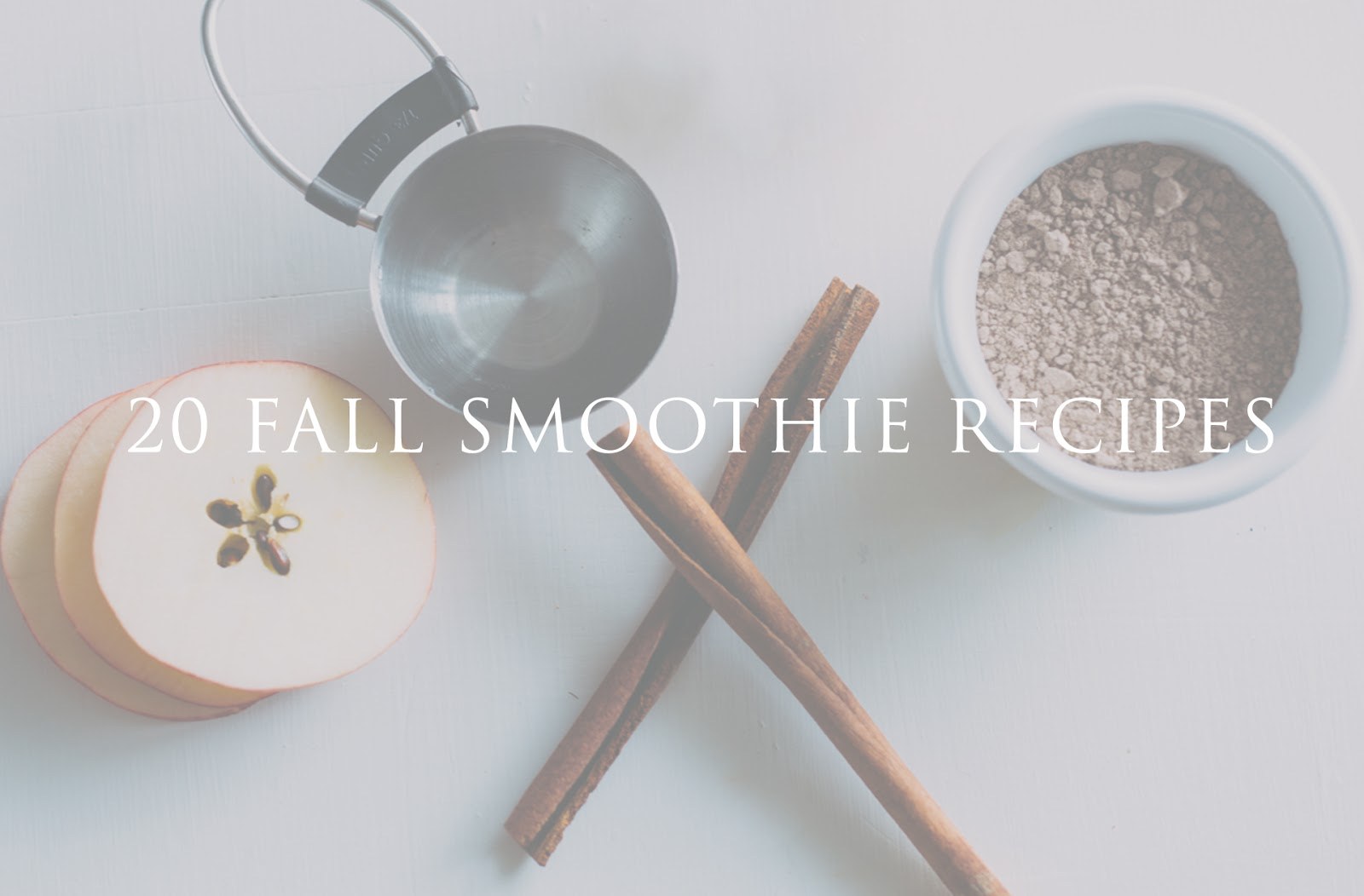 the best fall smoothie recipe roundup