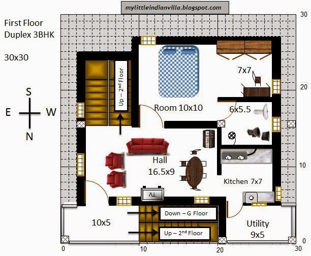 Floor plans for house 30x30 joy studio design gallery for 30x30 house floor plans