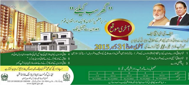 FGEHF Islamabad Membership Phase II Last Date Extended Till Dec 31, 2015