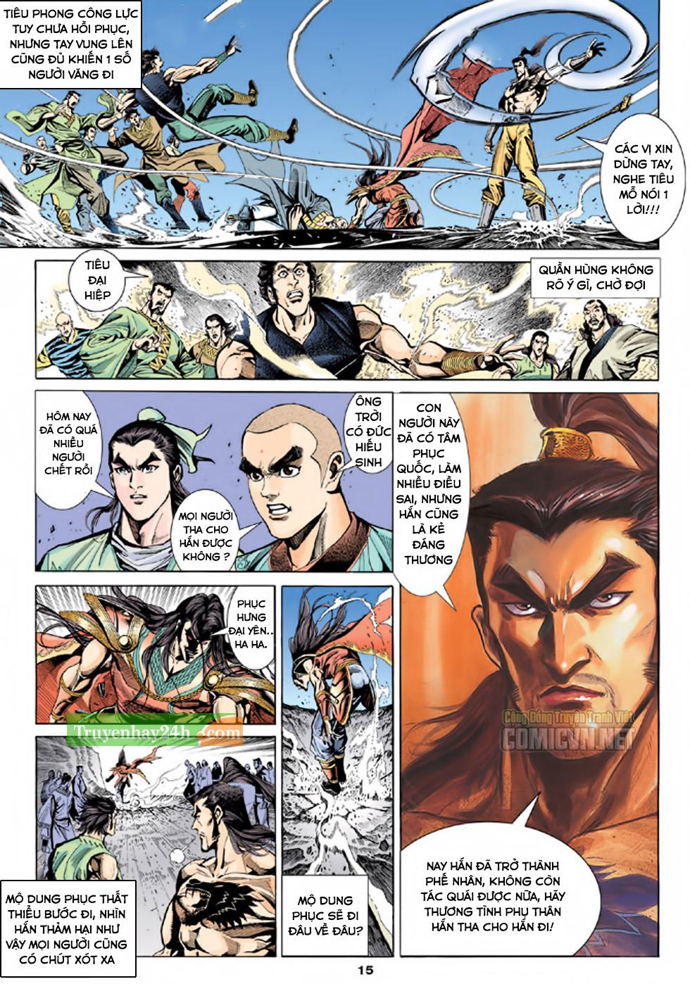 Thiên Long Bát Bộ chap 100 - Trang 16
