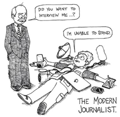 Keahlian Wartawan Media Online