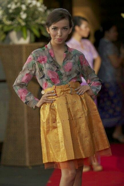 kebaya casual pesta
