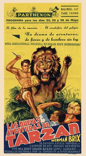 Tarzán – Las Nuevas Aventuras De Tarzán (1935)