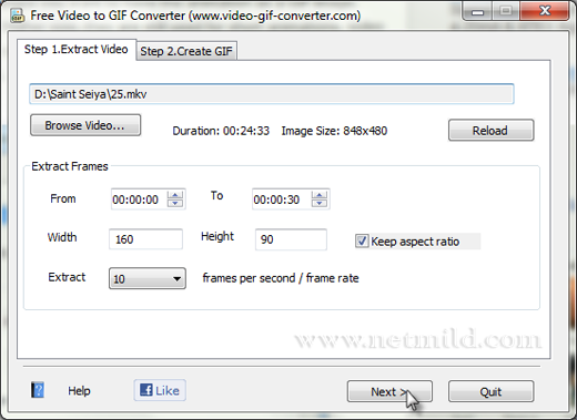Video Gif Converter Cara Membuat Animasi GIF dari Video