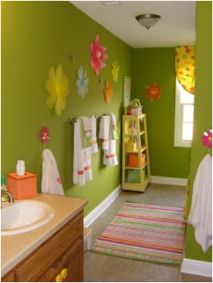 Young girls bathroom ideas room design ideas - Girl bathroom design ...