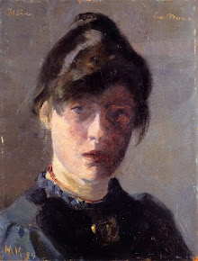 Marie Kryer: Self Portrait, 1889