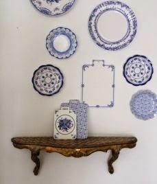 wall decor, plate arrangements