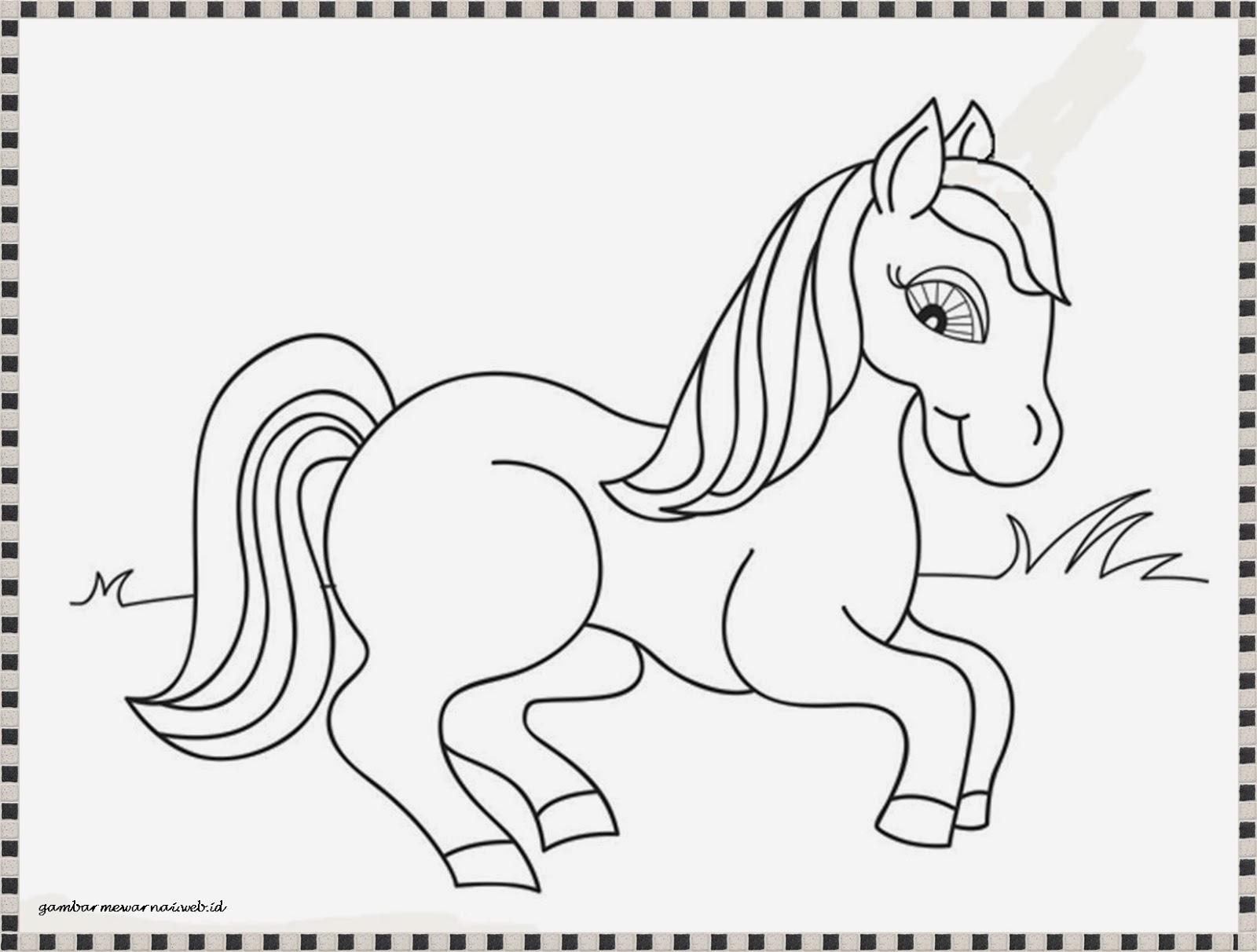 gambar kuda kartun - gambar kuda