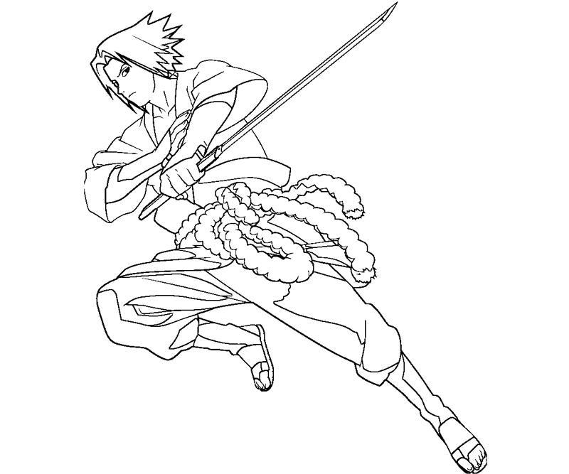 sasuke uchiha 28 coloring page