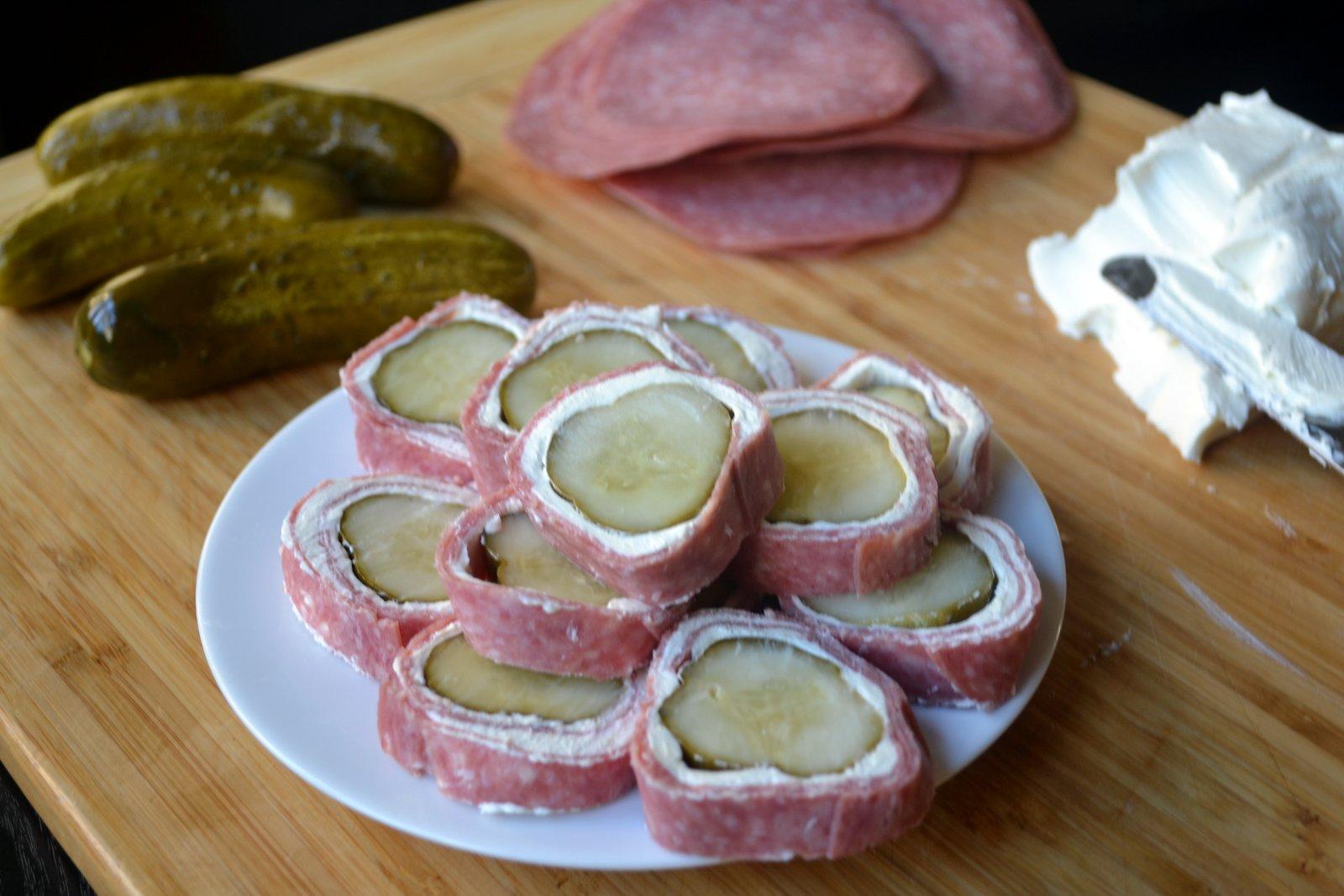 Роллы в домашних условиях с колбасой