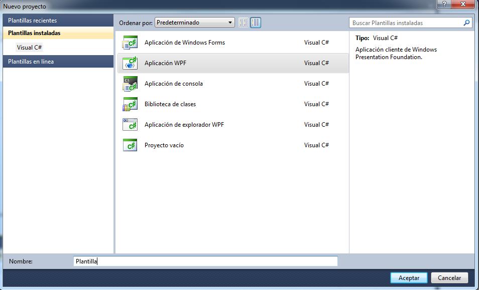 Raerpo: Plantilla para crear programas con interfaz gráfica - Kinect SDK