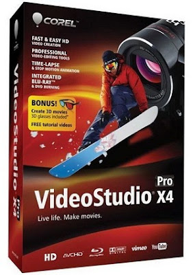 download Corel VideoStudio Pro X4 v14.2.0.23 + Keygen 2011 Programa