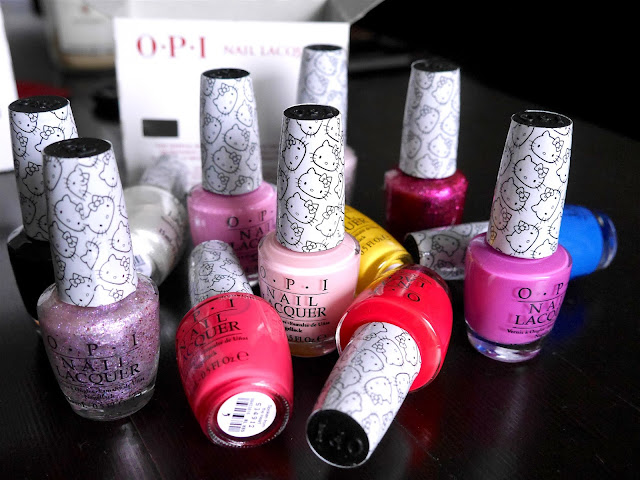OPI X Hello Kitty 2016