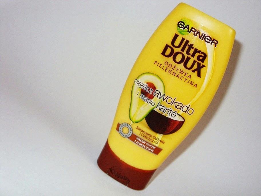 Odżywka do włosów z masłem karite i olejkiem z awokado Ultra Doux, Garnier