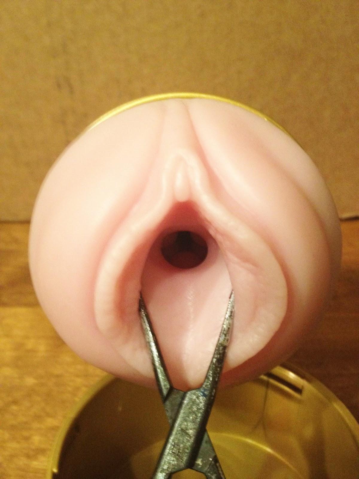 fleshlight inside vagina
