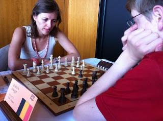Échecs à Dieppe : la grand-maître Tatiana Kostiuk © Chess & Strategy