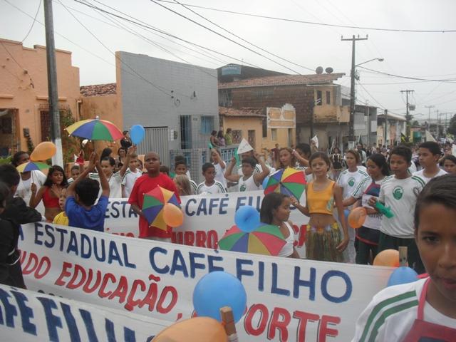 Escolas Estaduais comandam o Cortejo Cultural nos bairros populosos de Natal