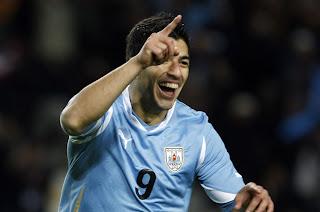 Luis Suárez Mejor Jugador Copa América 2011
