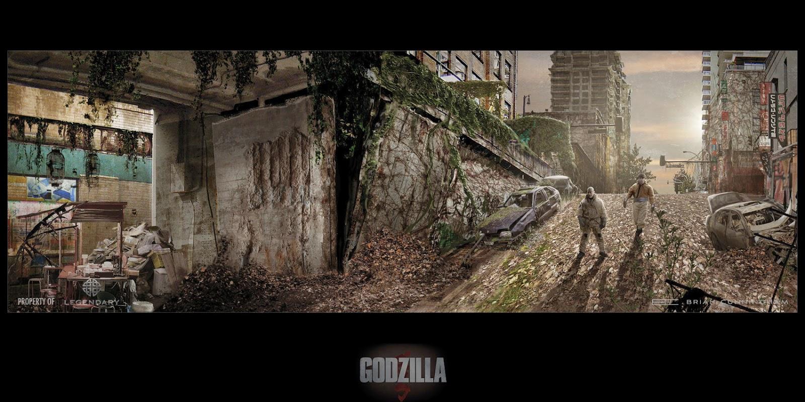 godzilla concept arts cg daily news