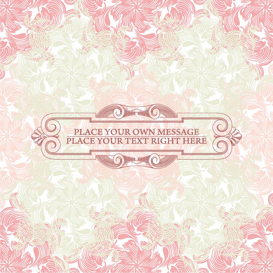 お洒落なピンク系パターンの背景 pink background pattern イラスト素材