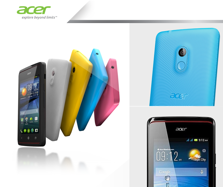 Harga smartphone android acer liquid Z200