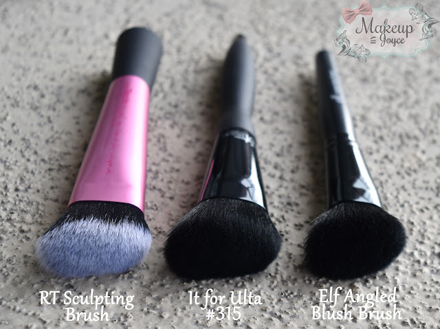 It Brushes for Ulta #315 vs Real Techniques Sculpting Brush
