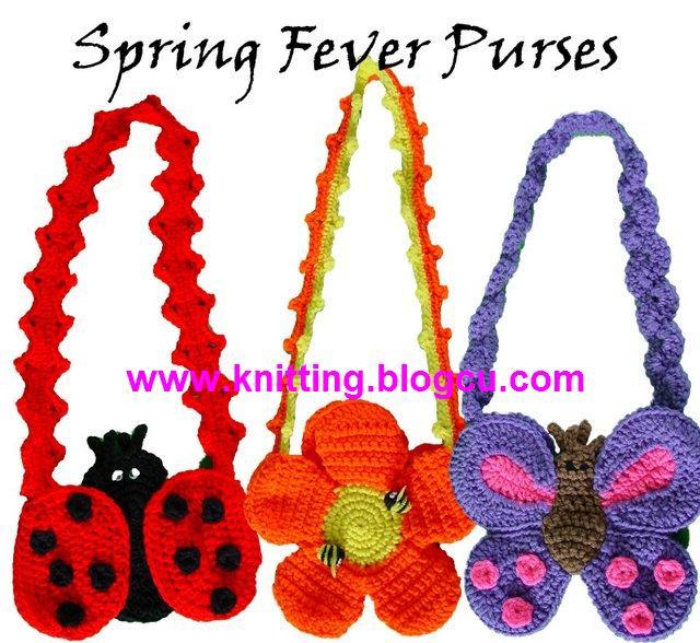احلى شنط اطفال للعيد Knitting-bags-crochet-bags-for-kids-croche-croheted-flowers