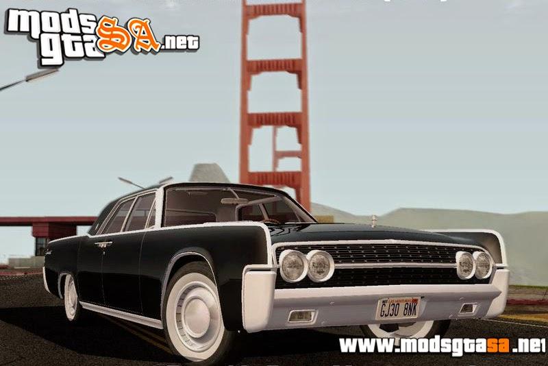SA - Lincoln Continental Sedan 1962