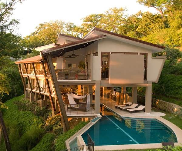 The Most Amazing Courtyard Home Plans As Luxury Paradise In Costa Rica