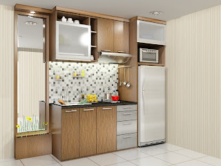 kitchen set, kitchen set murah, finishing hpl, kitchen set modern, kitchen set apartemen