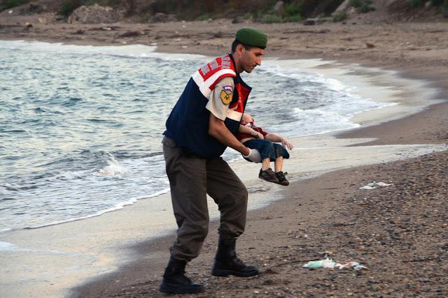 fotos niños refugiados sirios muertos